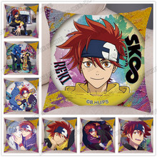 HOT Anime SK8 The Infinity New Super Soft Pillow Case Decor Cartoon Cushion Cover for Sofa Pillowcase Pillow Covers 45x45cm