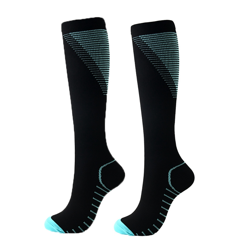 Sports Compression Socks Running Marathon Cycling Socks Long Breathable Basketball Football Pain Relief Men Sport Running Socks