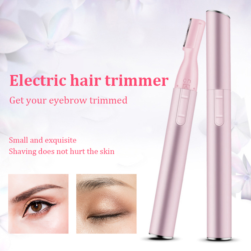 New Practical Electric Face Eyebrow Scissors Hair Trimmer Mini Portable Women Body Shaver Remover Blade Razor Epilator Trimmer