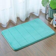 40x60 см 50x80 однотонный губчатый нескользящий коврик для ванной