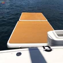 Надувная лодка на платформе для отдыха; Модная обувь Плавание