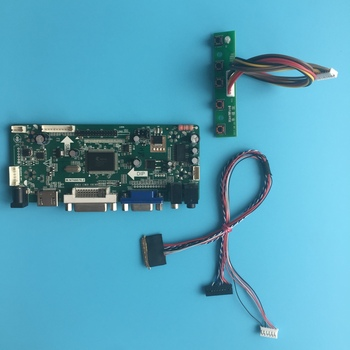 """Kit For LM230WF5-TLD1 LED LCD Controller board Screen Monitor Audio card DIY DVI Panel 1920X1080 23"""" HDMI VGA 40pin LVDS"""