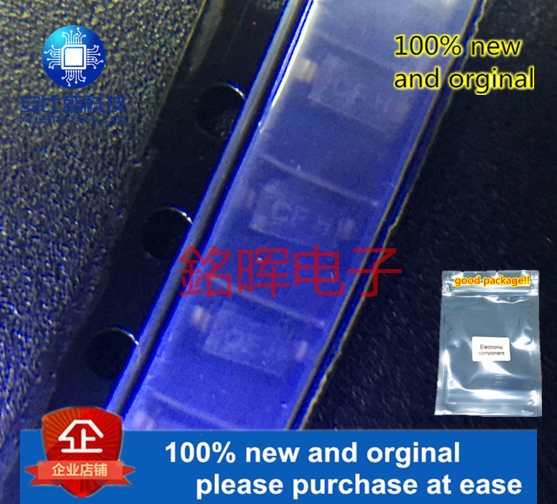 10pcs 100% New And Orginal MMSZ4681T1G Silk-screen Zener Voltage Regulators 500 MW SOD−123 CF 1206 2.4V SOD-123 In Stock