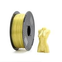 Filamento plástico brilhante do pla do filamento da impressora do cristal 3d da faísca 1.75mm 1kg que brilha o material de impressão 3d|Materiais de impressão 3D| |  -