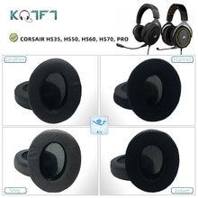 Kqtft 1 пара сменных амбушюр для corsair hs35 hs50 hs60 hs70