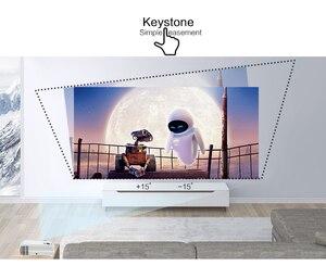 Image 5 - دعم قوي 720P العارض X5 مشغل الوسائط ثلاثية الأبعاد السينما المنزلية تلعب لعبة اختياري أندرويد واي فاي اللاسلكية ربط الهاتف المحمول