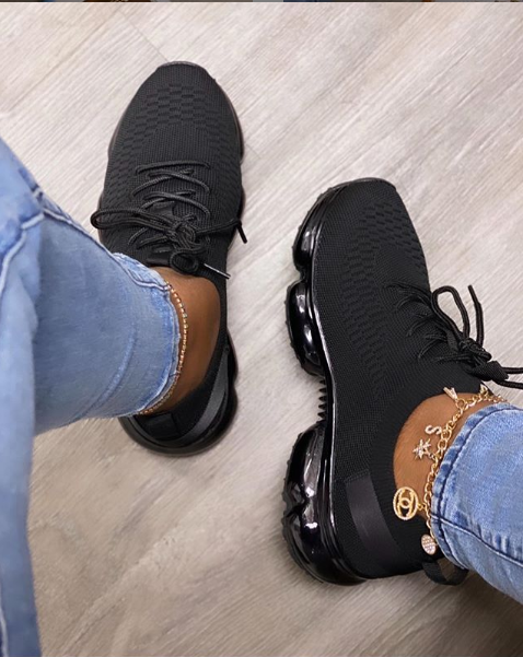 Sneakers For Women 2020 Tennis Shoes Big Size Mix Color Mesh Soft Woman Lace Up Comfort Vulcanzied Female Rainbow Women Footwear