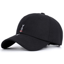 цена на style 2019 spring han edition taobao contracted cap embroidery letters baseball cap made of pure cotton men and women