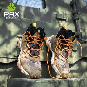 Image 5 - Rax hommes respirant chaussures de randonnée bottes de randonnée été chaussures de randonnée marche en plein air baskets escalade bottes de montagne Zapatillas