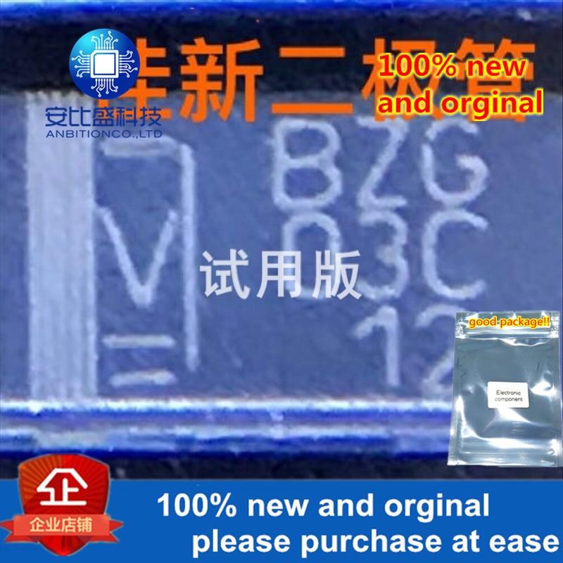 25-50pcs 100% New And Orginal BZG03C12TR 3W12V DO-214AC  In Stock