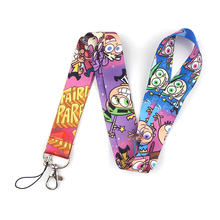 K2057 Cartoon Anime Lanyards For keychain ID Card Pass Cell Phone USB Badge Holder Hang Rope Lariat Lanyard flyingbee love story lanyards for keys id card pass gym mobile phone usb badge holder hang rope lariat lanyard x0079