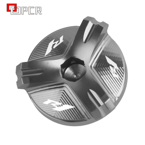 Image 3 - Motorcycle Cnc Aluminium Olievuldop Plug Cover Voor Yamaha R1 YZF R1 1998 2020 2019 2018 2017 2016