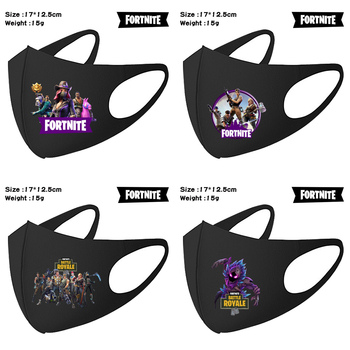 Fortnite Adult Child Face Mask Anti Dust Windproof Mask Reusable Breathable Protective Masks Mouth Caps Washable kid toys gift 6