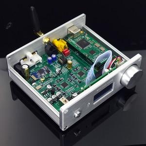 Image 4 - TZT SU9 Dual AK4493 + Bluetooth 5.0 + Amanero USB DAC Decoder Support DSD W/ OLED Display
