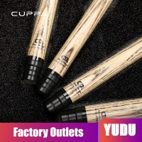 CUPPA Pool Cue Kit Quick Joint Eight Joint Technology Shaft Forearm Pool Billiard Snooker Stick Kit Black 8 Ash Technology Shaft