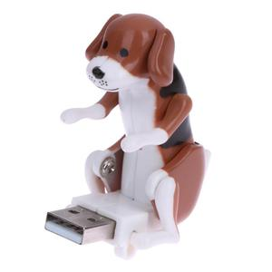 Portable Mini Cute USB Funny Humping Spot Dog Toy for Office Worker Relieve Pressure Gift Cartoon Flash Disk Spot Drive