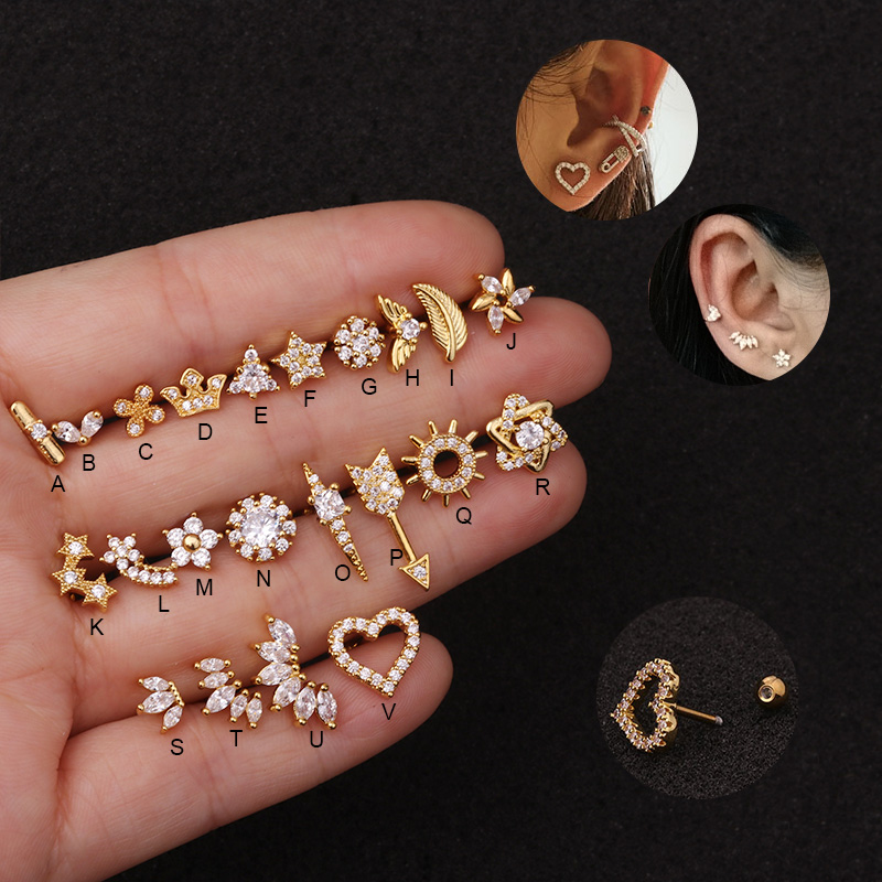 Best Cz Ear Cartilage Near Me And Get Free Shipping A642