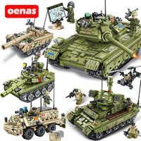 Militar ww2 tipo 85 59 tanque de batalha principal veículo bloco de construção compatível legoing modelo tijolos kits crianças brinquedos presente