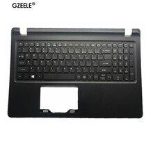 цена на NEW FOR Acer Aspire ES1-572 ES1-533 ES1-523 ES1-524 Laptop Black Palmrest & Keyboard 6B.GD0N2.001