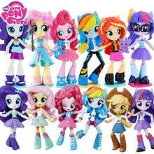 Bonecas figurine mon petit poney et figurine en PVC, poupées articulées Celestia, arc en ciel, jouets chauds pour enfants, une pièce