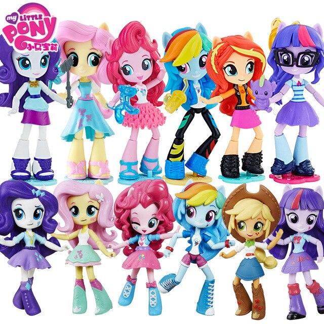 My Little Pony Mô Hình Búp Bê Celestia Khớp Di Chuyển Rainbow Dash Nhựa PVC Trong Hoạt Bộ Hot Đồ Chơi Dành Cho Trẻ Em bonecas