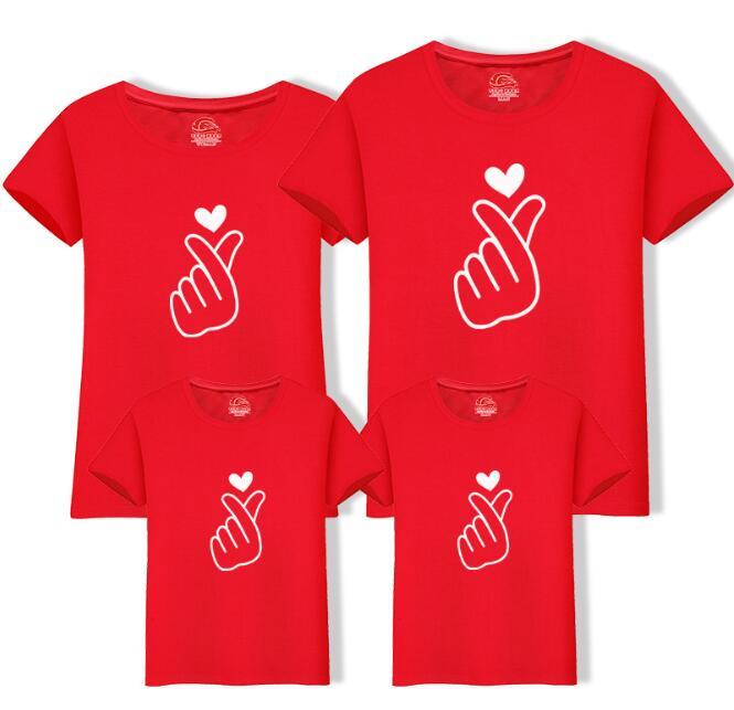 Рождественская футболка для папы, мамы и ребенка; одежда для всей семьи; Одинаковая одежда для мамы, дочки, папы и сына; рубашка для мамы и меня - Цвет: Red