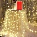 Горячая 10 м светодиодный гирлянды праздничное освещение сказочная гирлянда Рождественская елка свадебное украшение для вечеринки