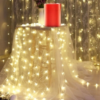 Hot 10M LED String Lights Holiday Lighting Fairy Garland Christmas Tree Wedding Party Decoration
