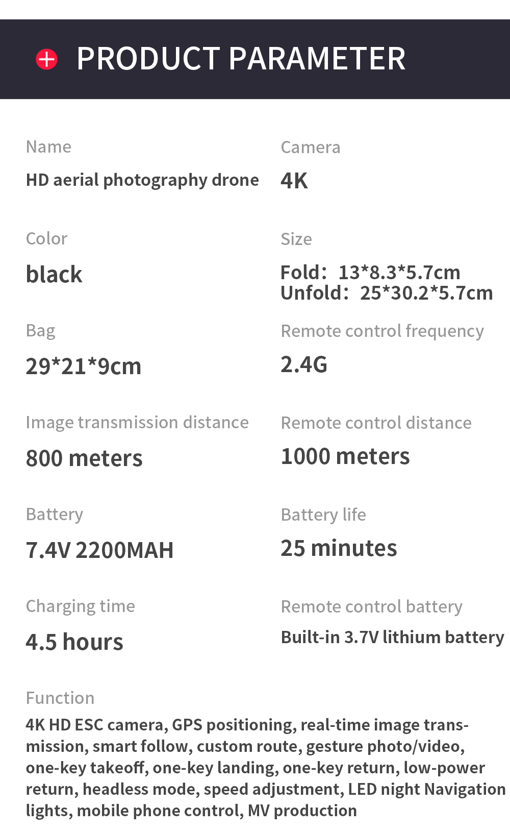 Ha286cf7442b3486f8a43e01e431aa24eH - ZLL SG108 Pro GPS Drone With 5G Wifi FPV 4K HD Dual Camera Brushless RC Foldable Quadcopter 1000m Control Distance Dron VS KF102