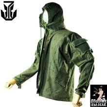 DMGear Tactical Wind Coat Jacket Soft Shell Zipper night sand Coat