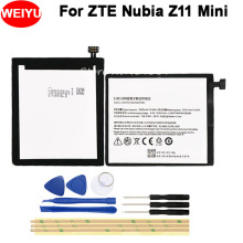 For ZTE Nubia Z11 Mini Battery 2830mAh Mobile Phone Replacement Li3827T44P6h726040 Batteria Batterie Accumulator AKKU with Tools