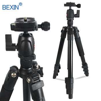 BEXIN camera tripod phone stand portable travel camera mount panorama shooting tripod for the dslr camera