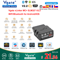 Vgate vLinker MC + ELM327 Bluetooth 4,0 OBD 2 OBD2 сканер Wi-Fi для bпогружения FORScan для Android/IOS PK OBDLINK ELM 327 в 1 5