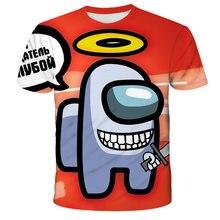 Camiseta De Manga Corta Con Estampado De Juegos in 3D per Hombres Nuevos, Camisa Informal Con Cuello c4do Para 2021