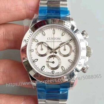 цена watch 39mm luxury brand automatic mechanical watch for the Men's watches men sapphire glass stainless steel case 7 онлайн в 2017 году