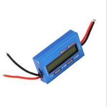 100A 60V DC Digital Wattmeter Watt Meter Power Meter Balance Voltage Battery Checker
