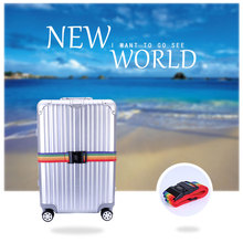 цена на Luggage with Cross Strap Packaging Adjustable Travel Suitcase PP with Luggage Luggage Travel Luggage with Travel Accessories