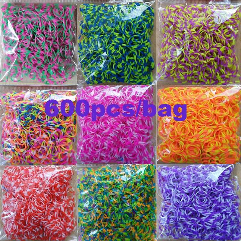 Diffe Colors Rubber Loom Bands
