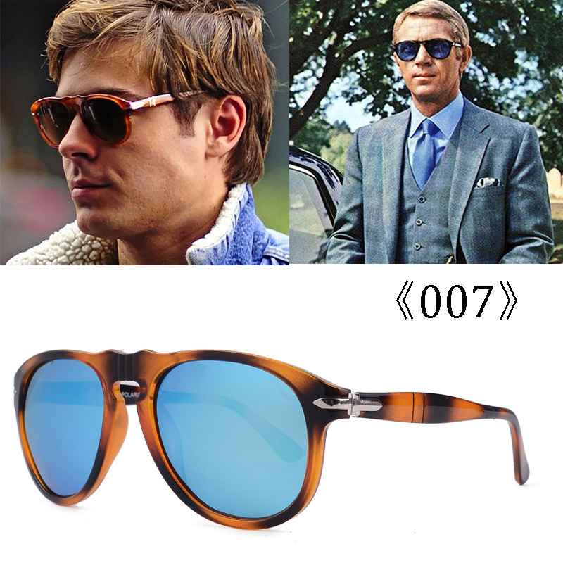 2020 luxury classic vintage steve 007 daniel craig style polarized men's sunglasses design brand sunglasses UV400