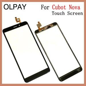 """Image 4 - OLPAY 5,5 """"Handy Touchscreen Für Cubot Nova Touchscreen Glas Digitizer Sensor Reparatur Werkzeuge Kostenloser Klebstoff Und Tücher"""