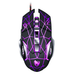 Wired Gaming Mouse USB Optical Gamer Mouse Ergonomic Mice 6 Buttons 3200DPI Computer Programmable Mouse For PC Laptop Desktop