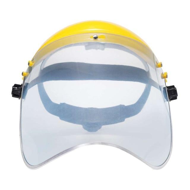 Protective Full Face Mask Welding Helmet Anti-UV Saliva Safety Anti Virus Shield Visor Workplace Protection Supplies 1