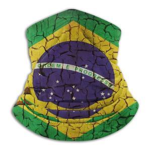 Флаг Бразилии Винтаж Стиль Ретро Стиль Бразилия одежда Бразилия Futball Джерси-шарф бандана повязка на голову на открытом воздухе Альпинизм теплые уход за кожей лица