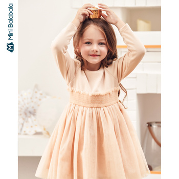 Girls Princess 2020 new dress comfortable dress elegant children clothing girl dress
