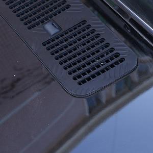 Image 5 - Dla Mercedes Benz G klasa W463 G350 G500 G63 19 20 aluminiowa przednia osłona silnika osłona wentylacyjna panel dekoracyjny akcesoria samochodowe