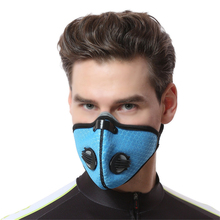 Motorcycle Anti Dust Bicycle Face Mask With Filter Activated Carbon Men Women Running Cycling Anti-Pollution Bike