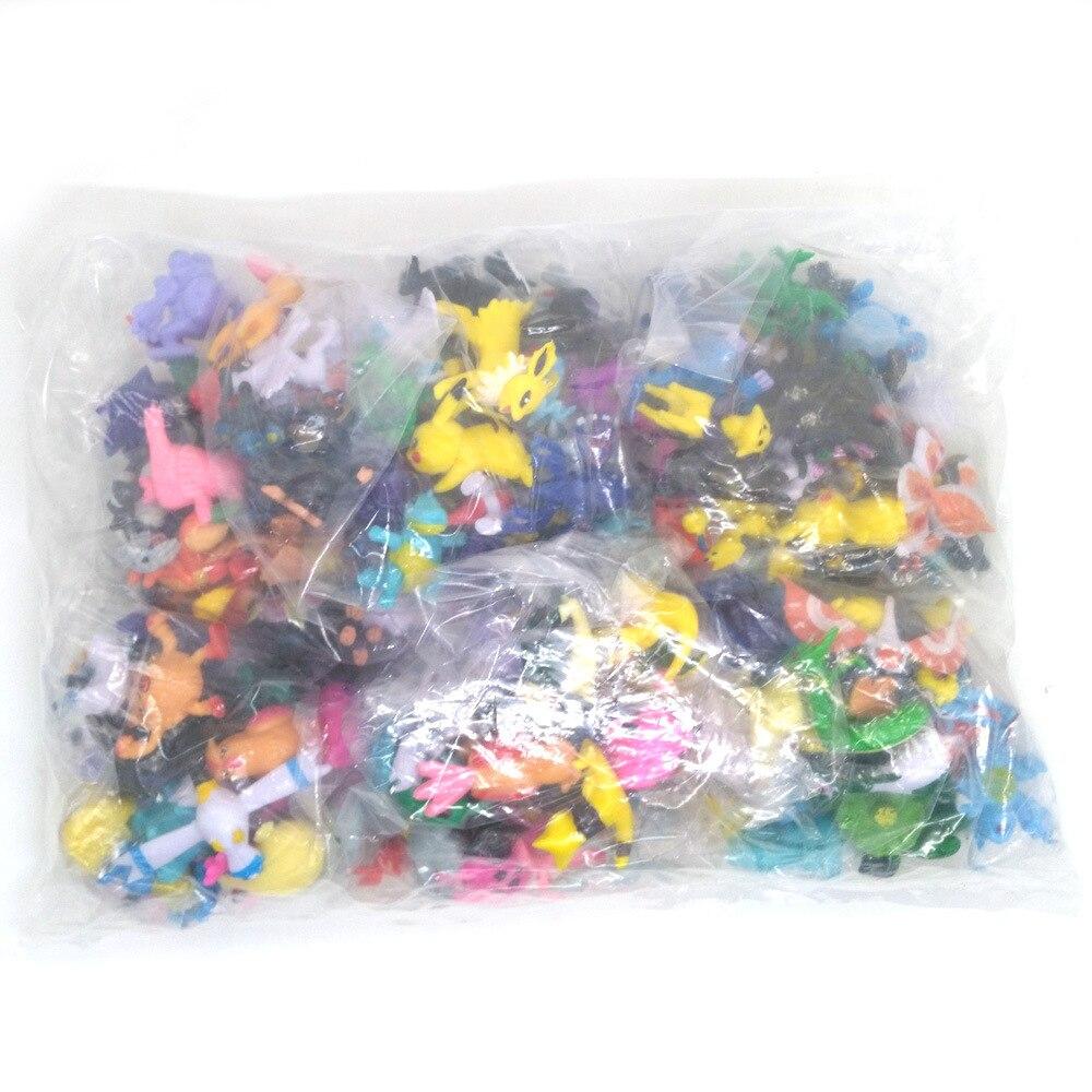 TAKARA TOMY Pokemones 24pcs/set Different Styles 2.5-3cm Hot Anime pokemon Action Figure Kids Birthday Gifts Model Toys 6