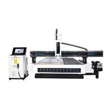 Machine à travailler le bois, changeur d'outils automatique pour routeur atc cnc cnc cnc 4 axes avec fixation rotative