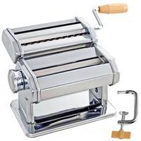 MagiDeal3 In 1 Dies Pasta Spaghetti Fettuccine Maker Cutter For 1mm 6.6mm Pasta Stainless Steel Spaghetti Maker Machine Cutter