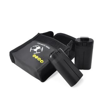 STARTRC DJI Mavic Mini Drone bateria lipo Case przeciwwybuchowe bezpieczne przechowywanie torba ognioodporna obudowa ochronna dla DJI Mavic Mini tanie i dobre opinie 8MP 2 3 cali 2 7 k AJJDJIMINIBB2 11x3 5x6 6cm
